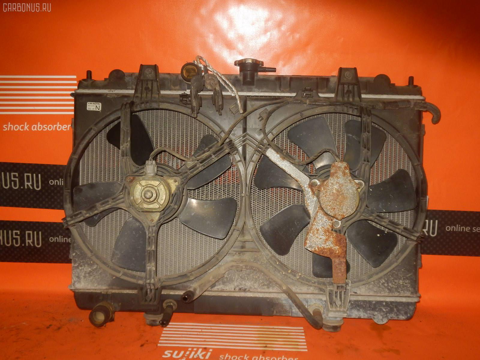 Радиатор ДВС NISSAN AVENIR W11 QG18DE. Фото 8