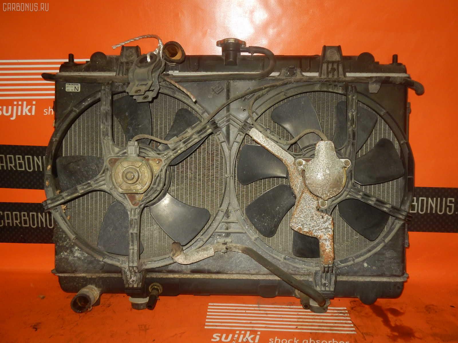Радиатор ДВС NISSAN AVENIR W11 QG18DE. Фото 10
