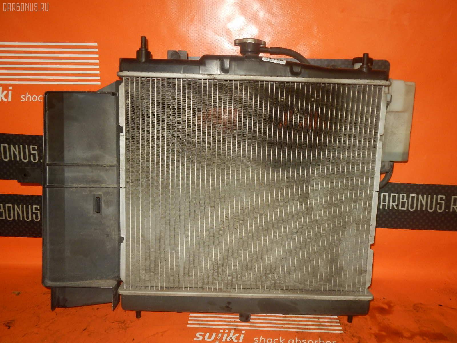 Радиатор ДВС NISSAN CUBE BZ11 CR14DE. Фото 9