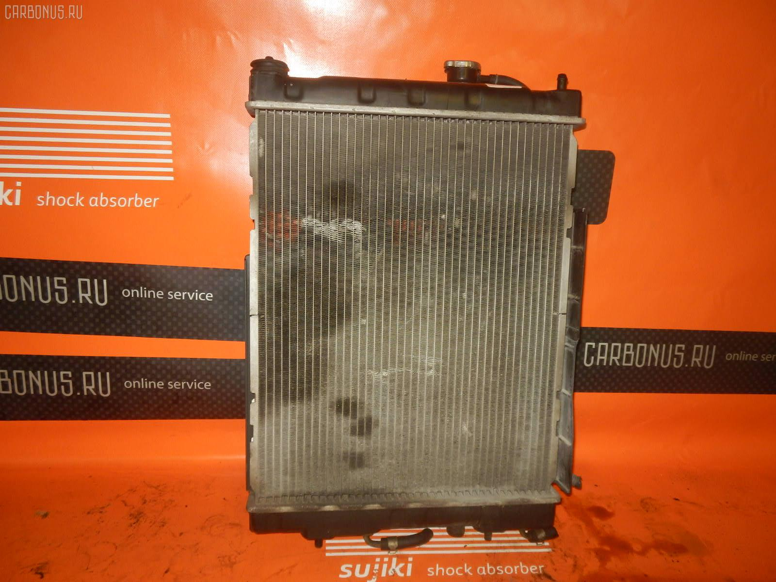 Радиатор ДВС NISSAN CUBE Z10 CG13DE. Фото 7