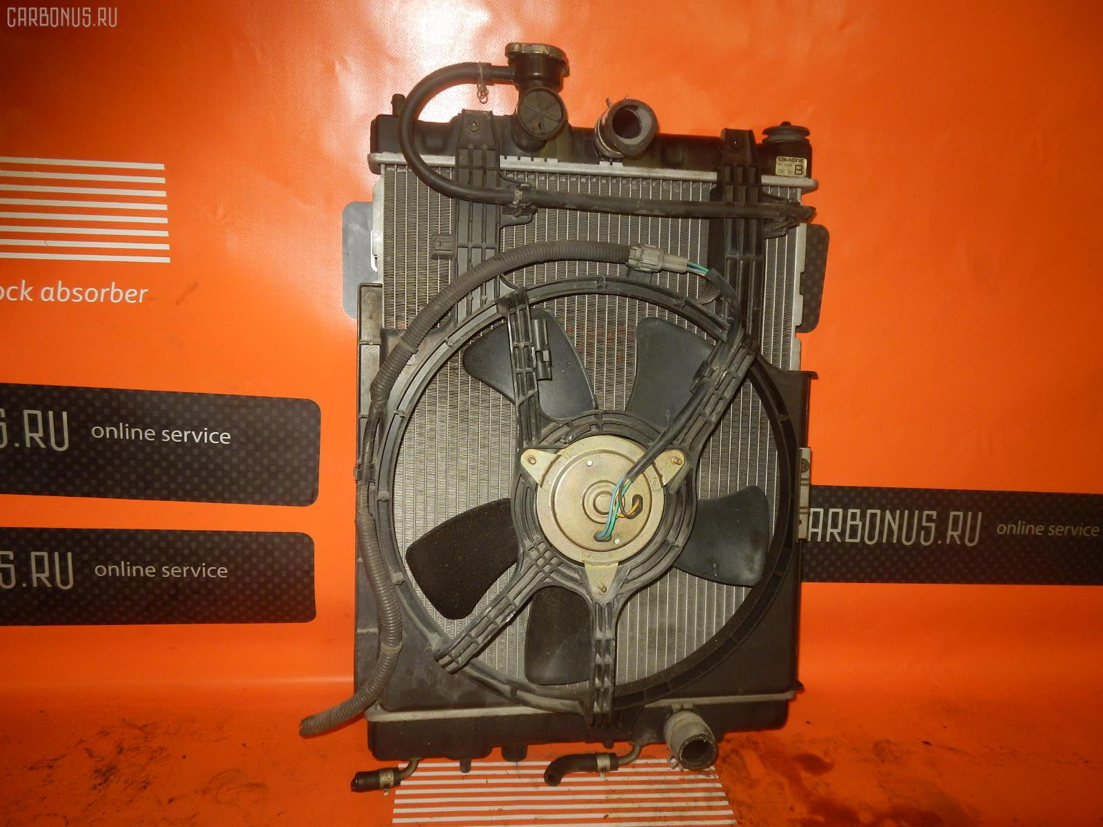 Радиатор ДВС NISSAN CUBE Z10 CG13DE. Фото 6