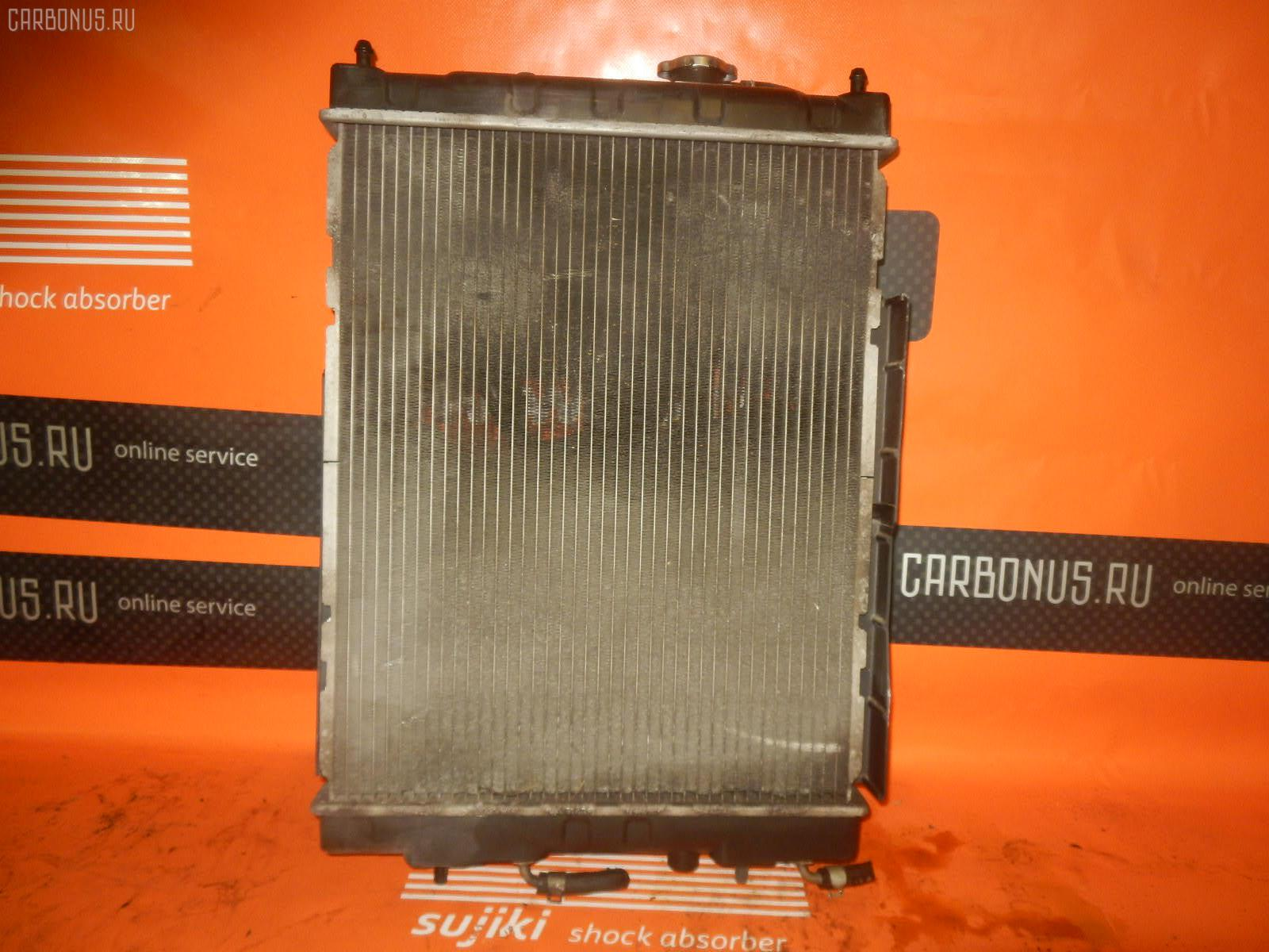 Радиатор ДВС NISSAN CUBE Z10 CG13DE. Фото 8