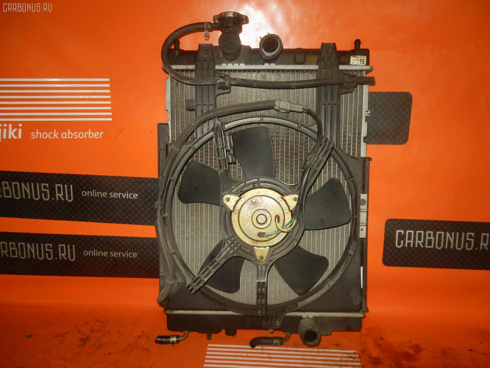 Радиатор ДВС NISSAN CUBE Z10 CG13DE. Фото 9