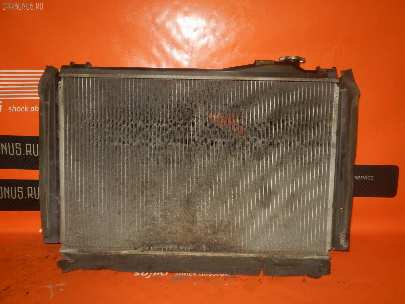 Радиатор ДВС TOYOTA CROWN GS151 1G-FE. Фото 4