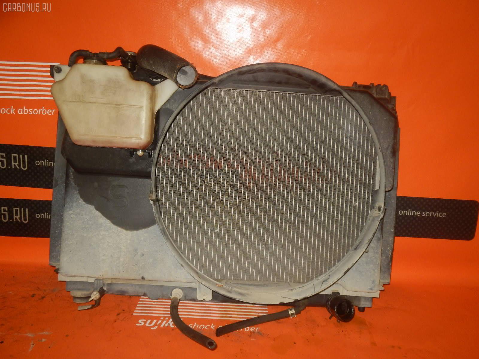 Радиатор ДВС TOYOTA CROWN GS151 1G-FE. Фото 3