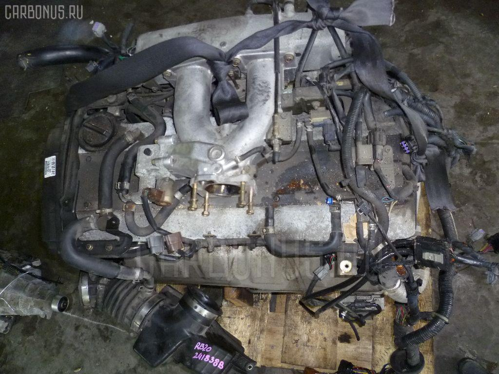 Двигатель NISSAN LAUREL HC35 RB20DE. Фото 6