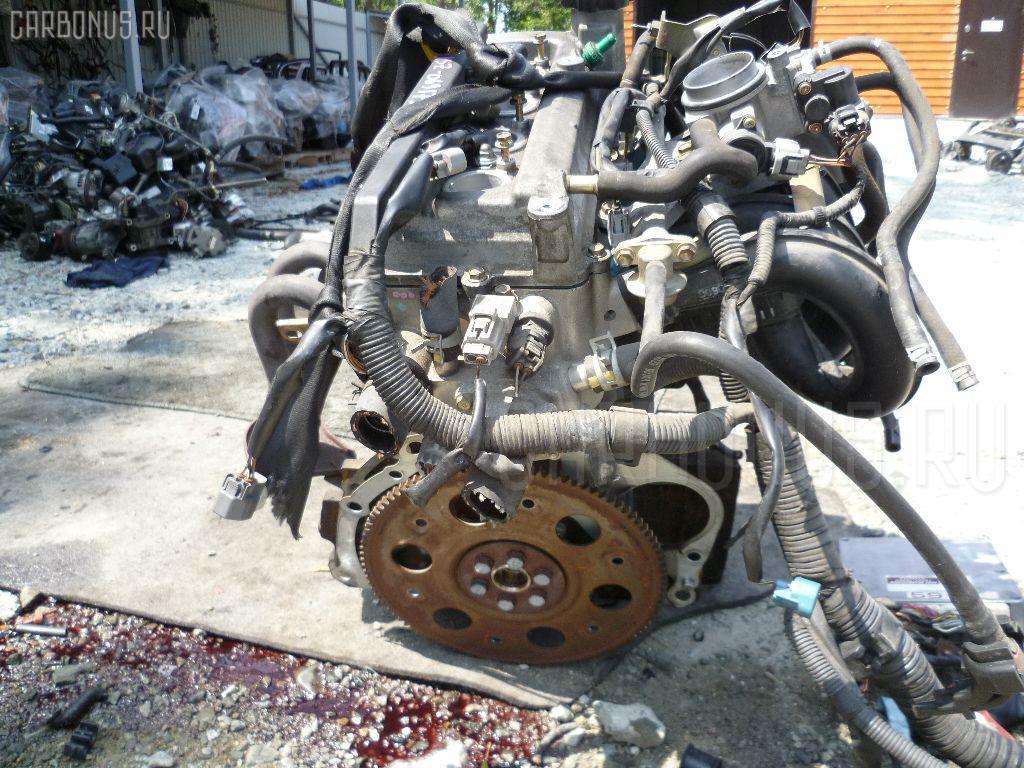 Двигатель TOYOTA VITZ SCP10 1SZ-FE. Фото 5