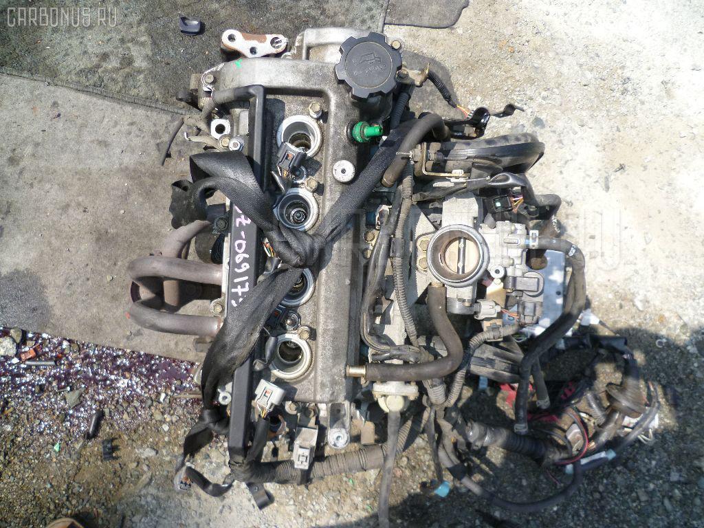 Двигатель TOYOTA VITZ SCP10 1SZ-FE. Фото 8