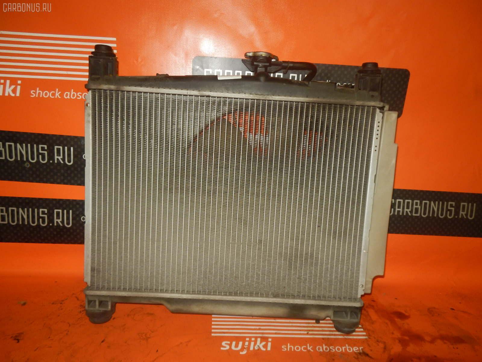Радиатор ДВС TOYOTA VITZ SCP10 1SZ-FE. Фото 1