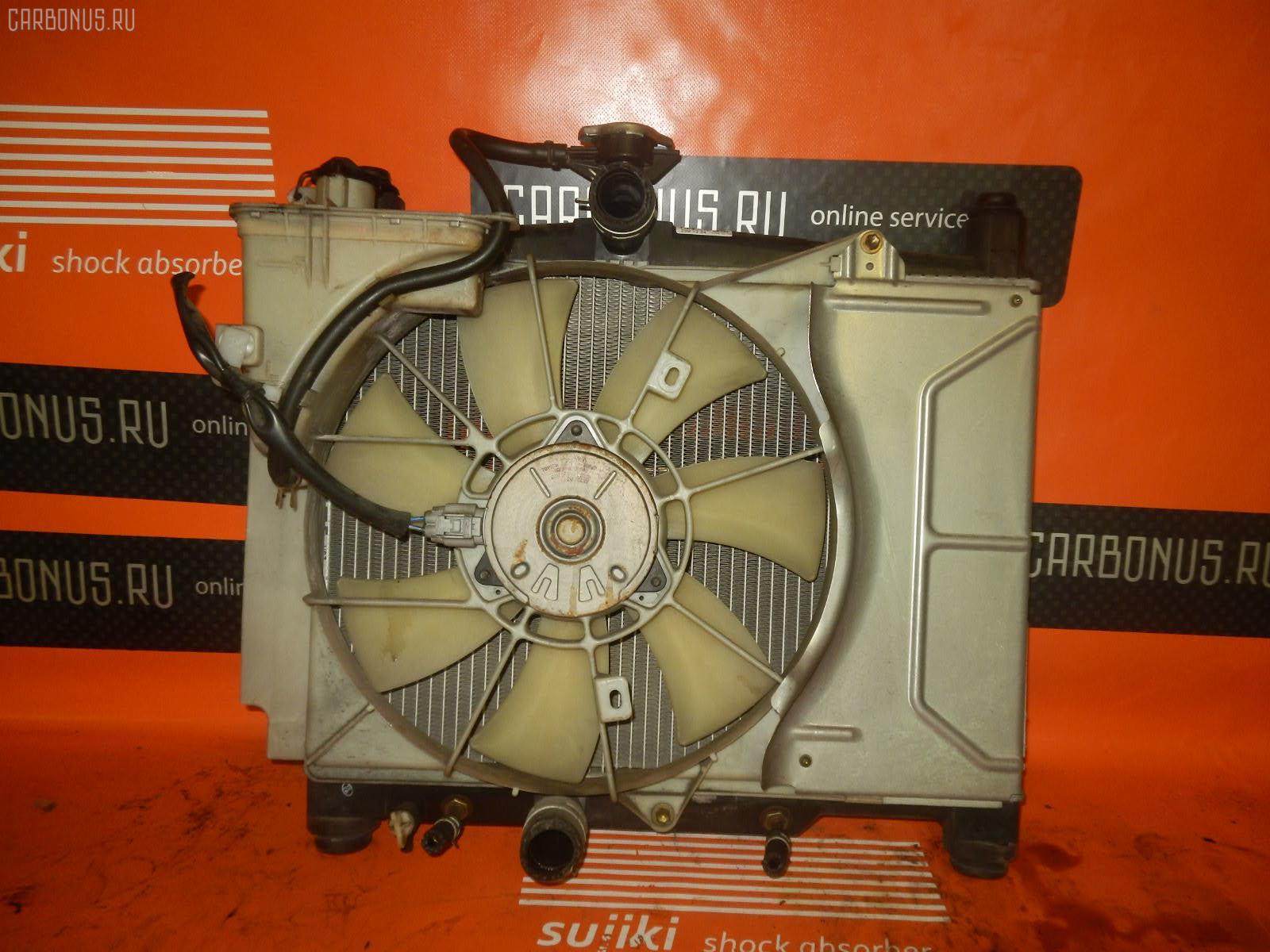 Радиатор ДВС TOYOTA VITZ SCP10 1SZ-FE. Фото 2