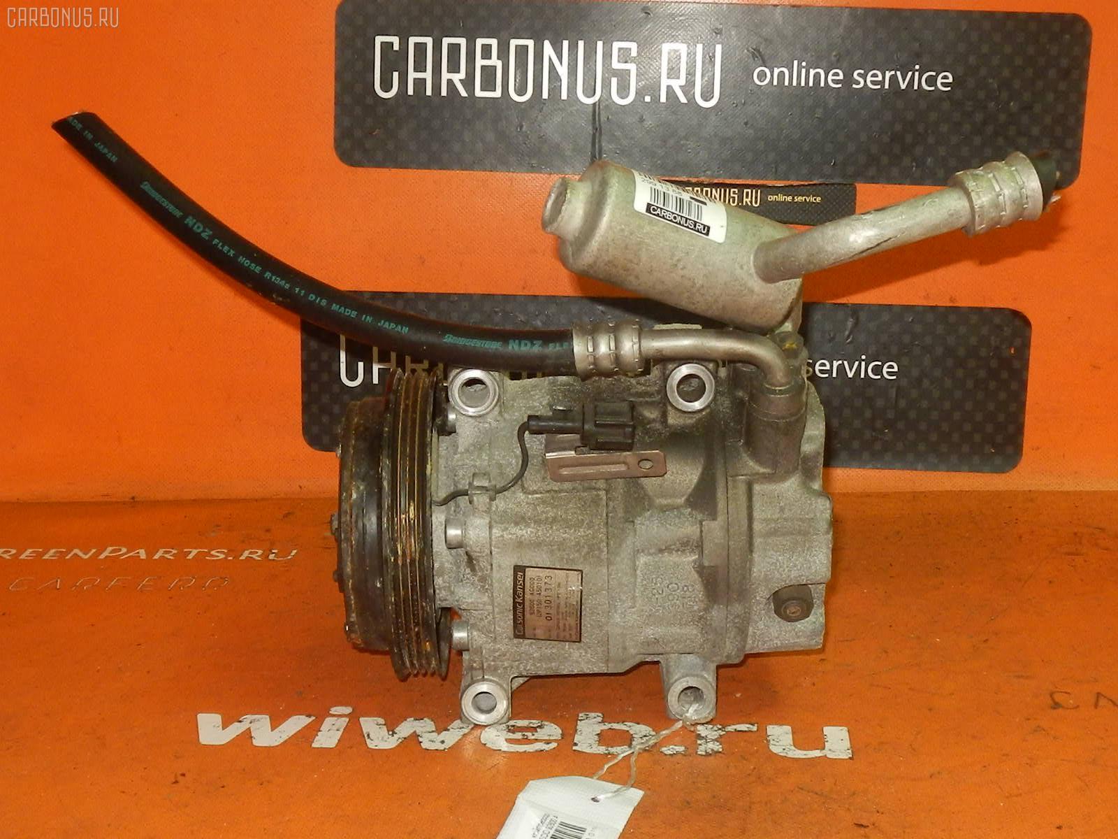 Компрессор кондиционера NISSAN CEDRIC MY34 VQ25DD. Фото 3