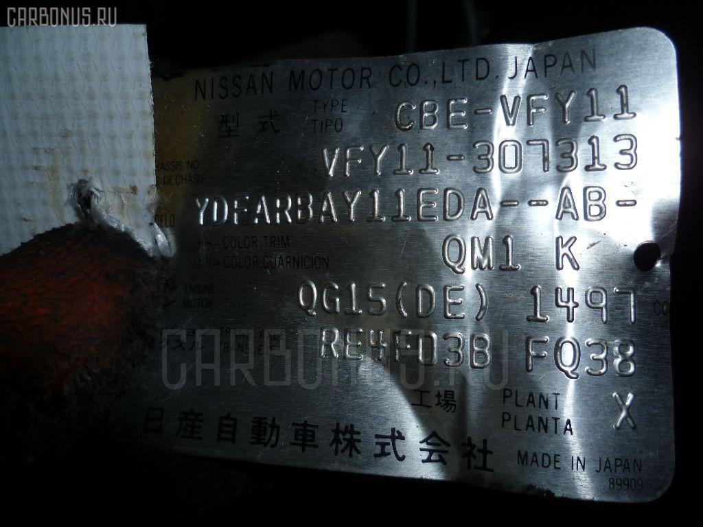 КПП автоматическая NISSAN AD VAN VFY11 QG15DE. Фото 10