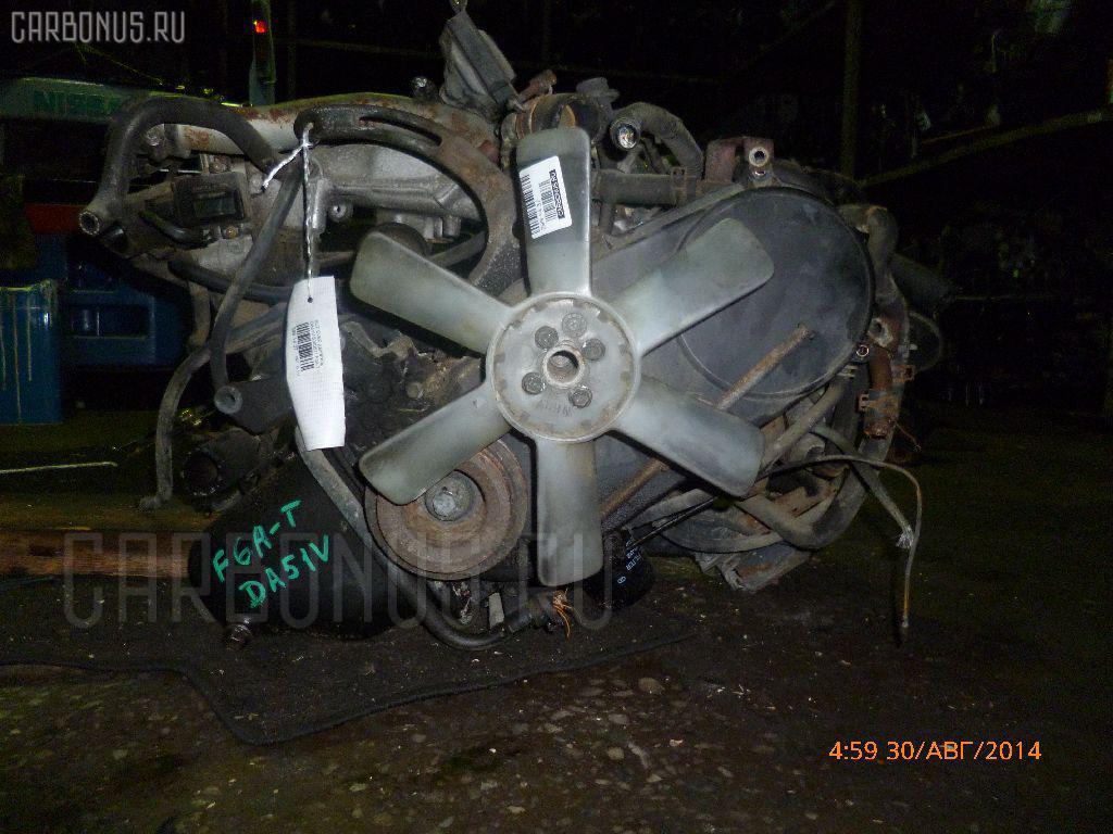 Двигатель SUZUKI EVERY DA51V F6A-T Фото 8
