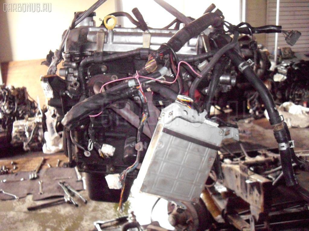 Двигатель TOYOTA VITZ SCP10 1SZ-FE. Фото 11