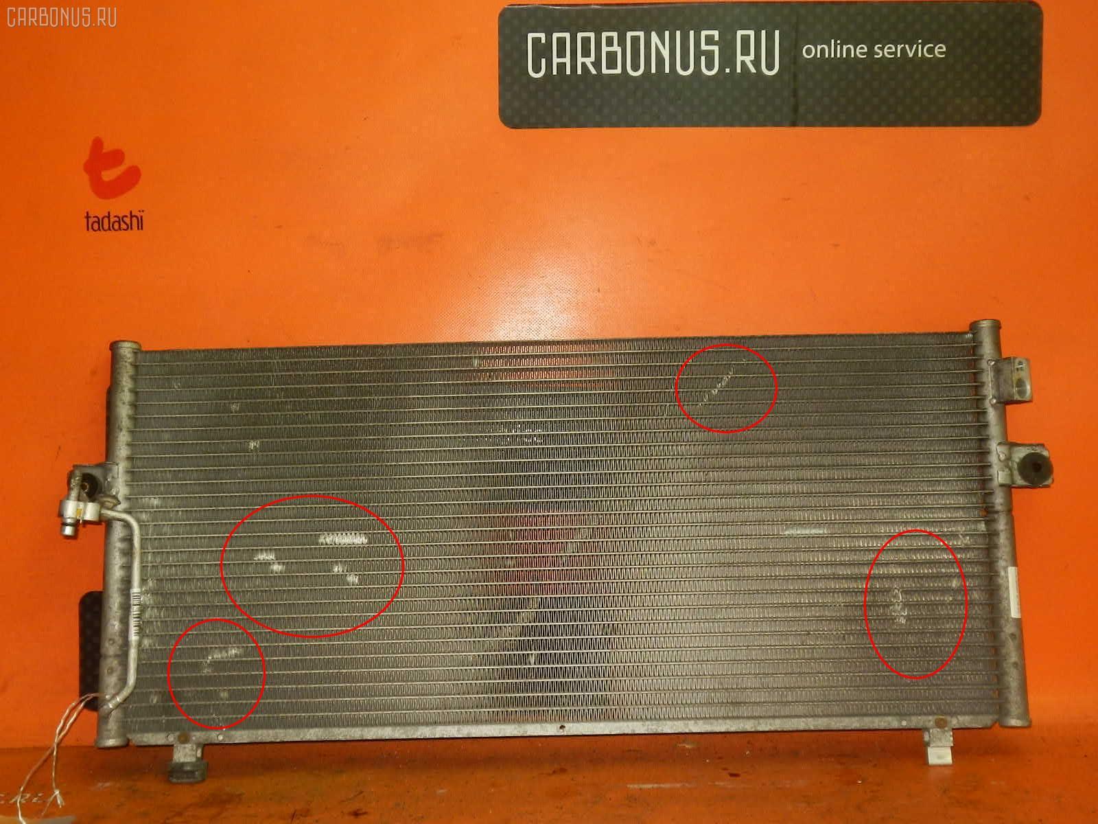 Радиатор кондиционера NISSAN BLUEBIRD QU14 QG18DE. Фото 2