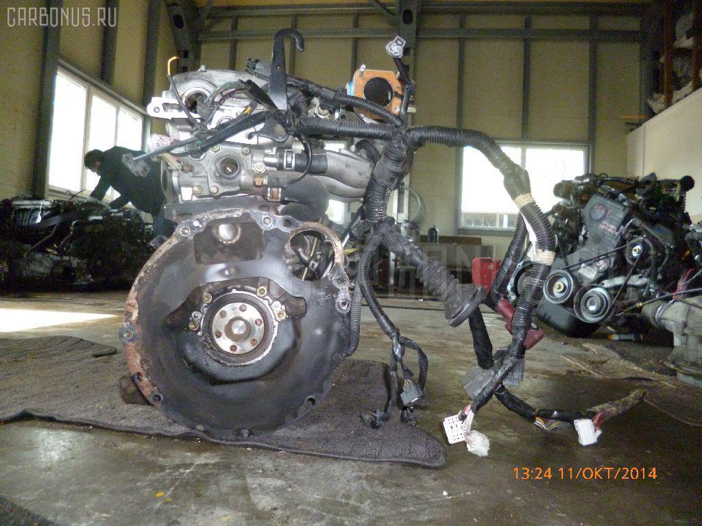 Двигатель TOYOTA STARLET EP82 4E-FE. Фото 8