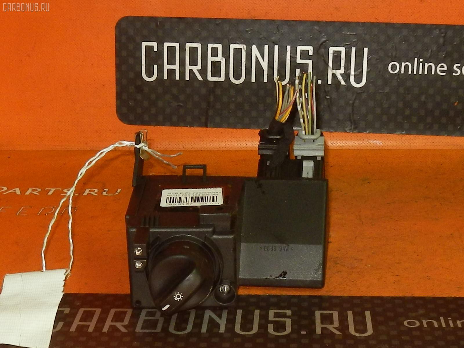 Переключатель света фар MERCEDES-BENZ E-CLASS W210.055. Фото 4