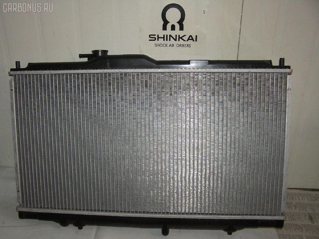 Радиатор ДВС HONDA PRELUDE BB5 F22B. Фото 3