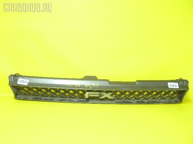Решетка радиатора TOYOTA COROLLA FX AE91. Фото 2