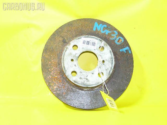 Тормозной диск TOYOTA FUNCARGO NCP20. Фото 5