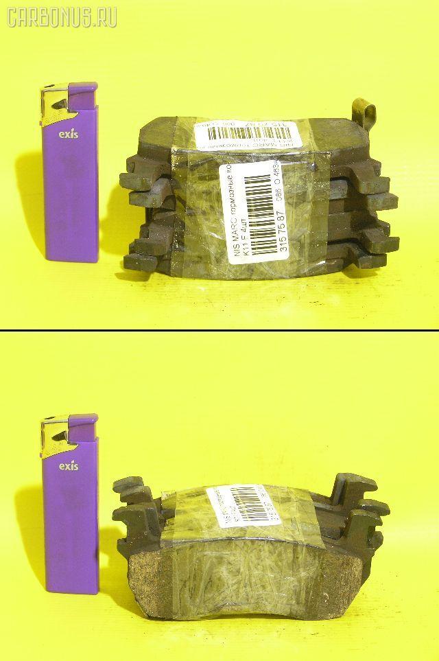 Тормозные колодки NISSAN MARCH HK11 CG13DE. Фото 2