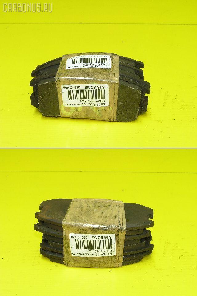 Тормозные колодки MITSUBISHI LANCER C62A Фото 1