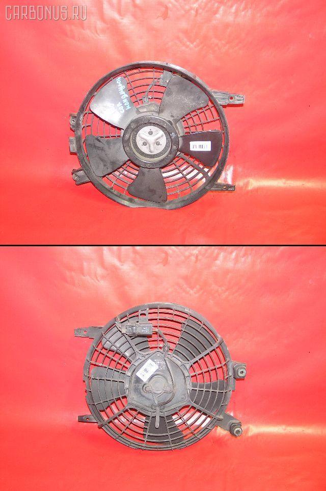 Вентилятор радиатора кондиционера TOYOTA COROLLA AE100 5A-FE. Фото 11