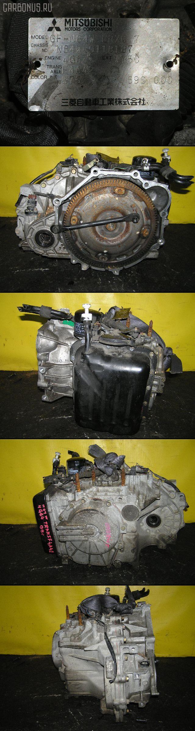 КПП автоматическая MITSUBISHI CHARIOT GRANDIS N84W 4G64. Фото 8
