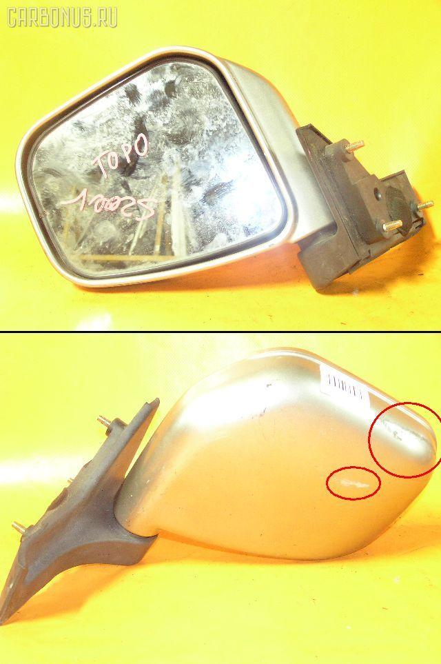 Зеркало двери боковой MITSUBISHI TOPPO BJ H46A Фото 1