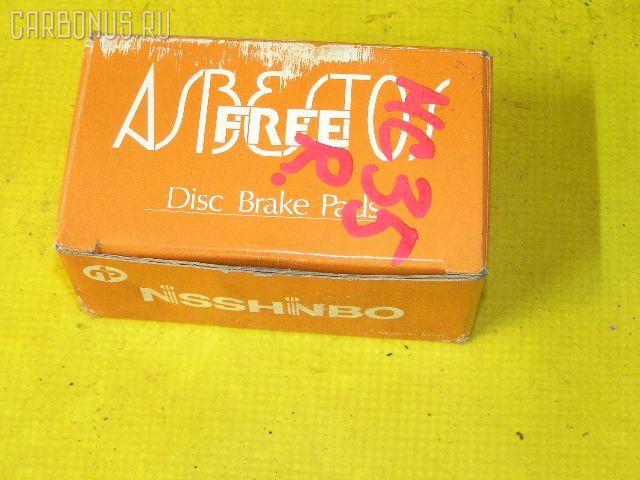 Тормозные колодки NISSAN SKYLINE HR33 RB20E. Фото 4