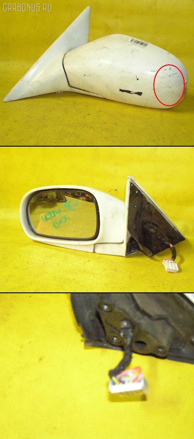 Зеркало двери боковой SUZUKI CULTUS CRESCENT WAGON GC21W. Фото 3