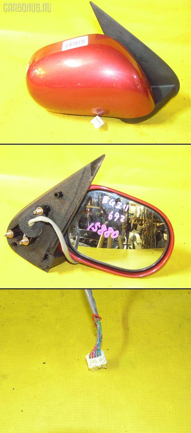 Зеркало двери боковой NISSAN CUBE BZ11. Фото 9