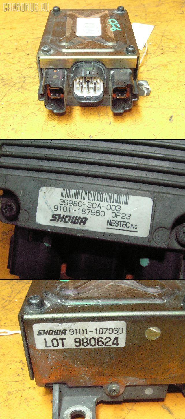Блок управления электроусилителем руля HONDA ACCORD WAGON CF6 F23A. Фото 2