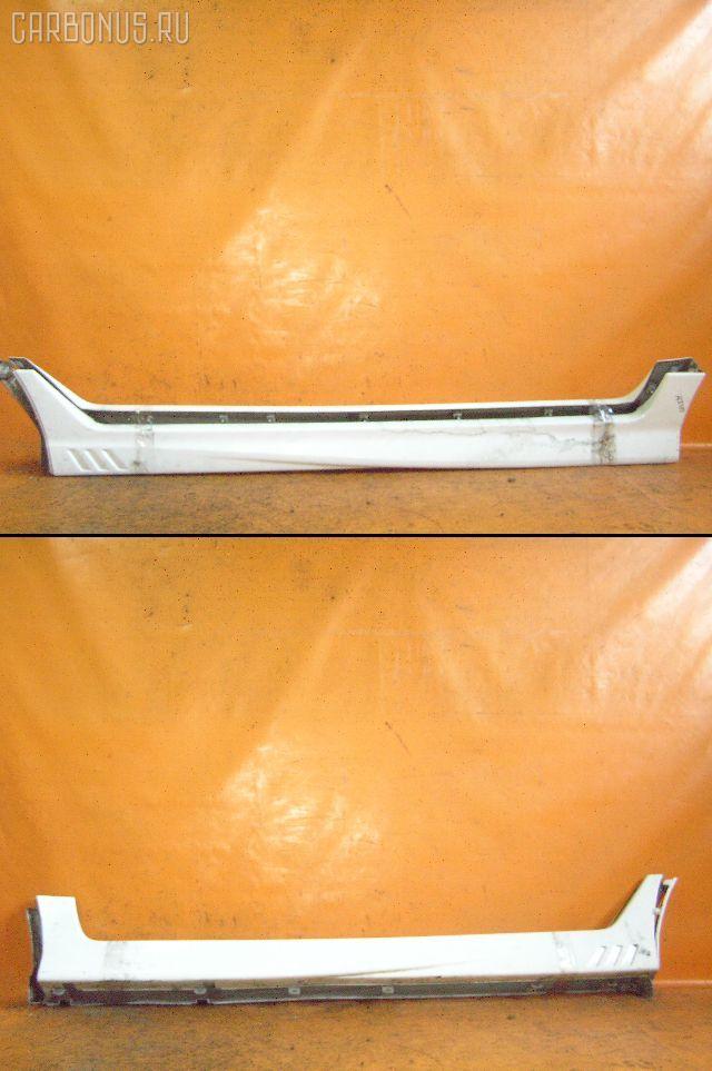 Порог кузова пластиковый ( обвес ) NISSAN CUBE AZ10. Фото 1