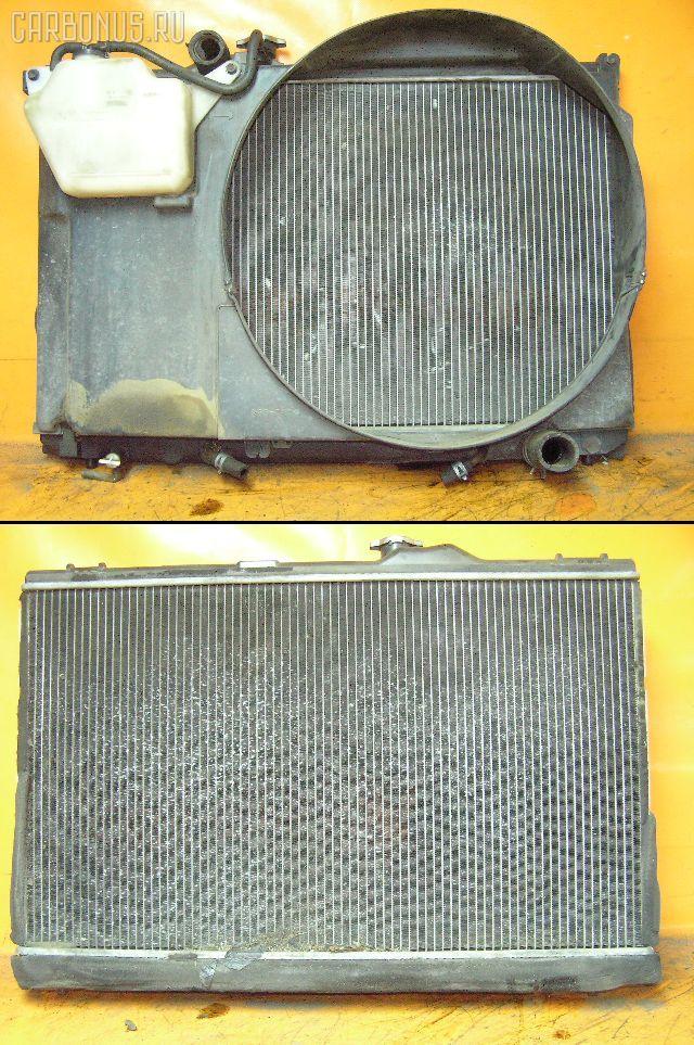 Радиатор ДВС TOYOTA CROWN JZS151 1JZ-GE. Фото 7