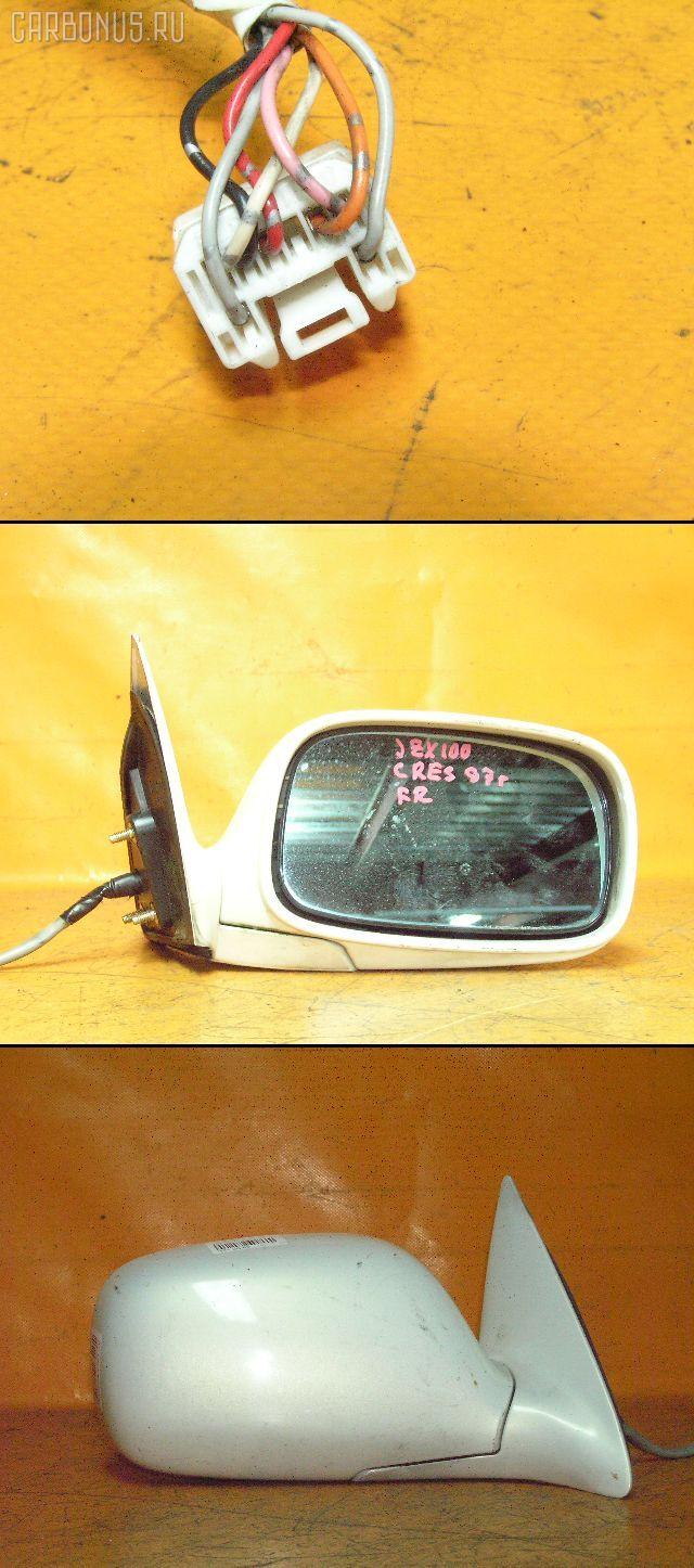 Зеркало двери боковой TOYOTA CRESTA JZX100. Фото 3