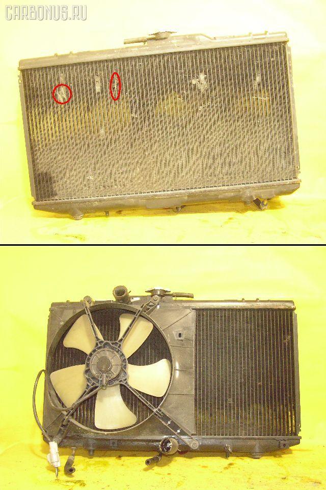 Радиатор ДВС TOYOTA STARLET EP82 4E-FE. Фото 2