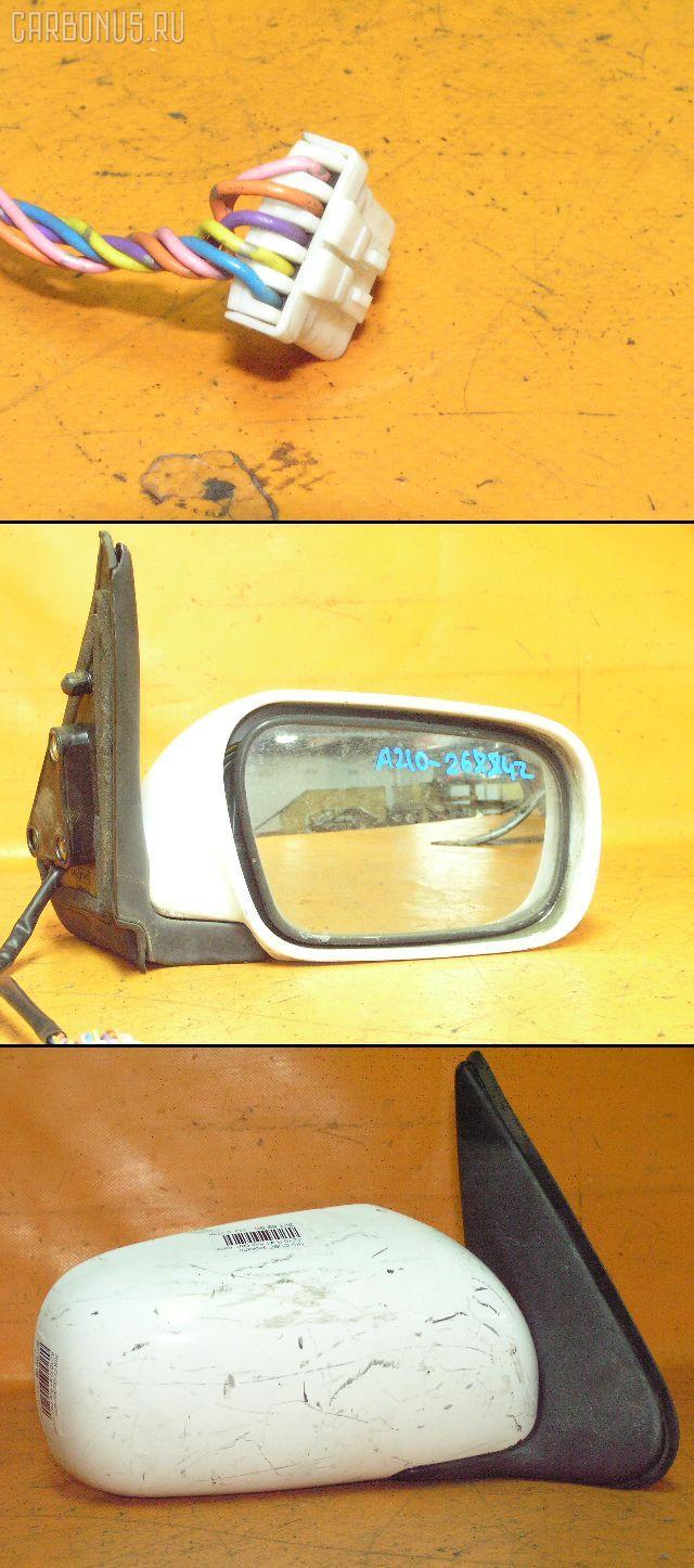 Зеркало двери боковой NISSAN CUBE AZ10. Фото 10