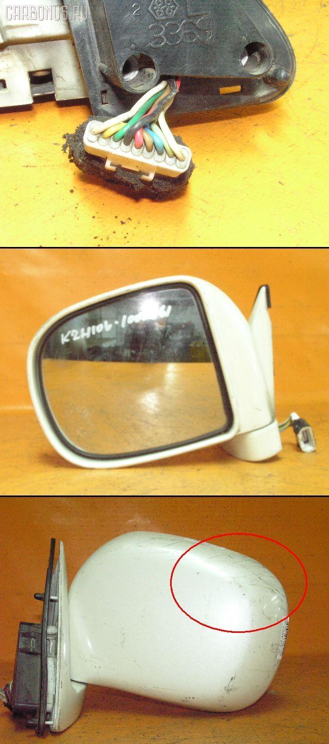 Зеркало двери боковой TOYOTA HIACE KZH106G. Фото 3
