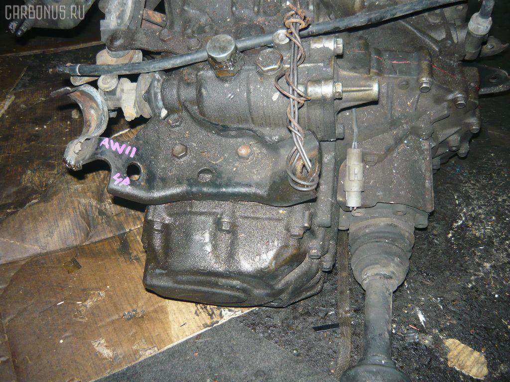 КПП механическая TOYOTA MR2 AW11 4A-GZE. Фото 3