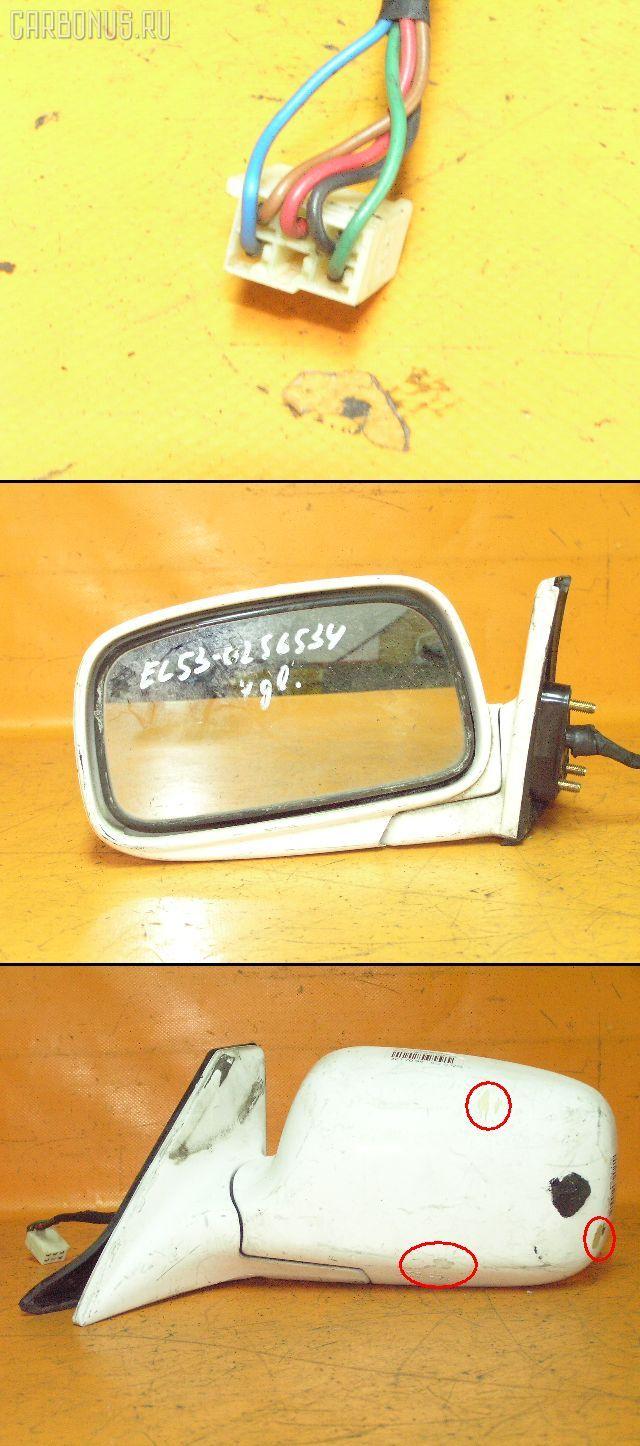 Зеркало двери боковой TOYOTA CORSA EL53. Фото 1