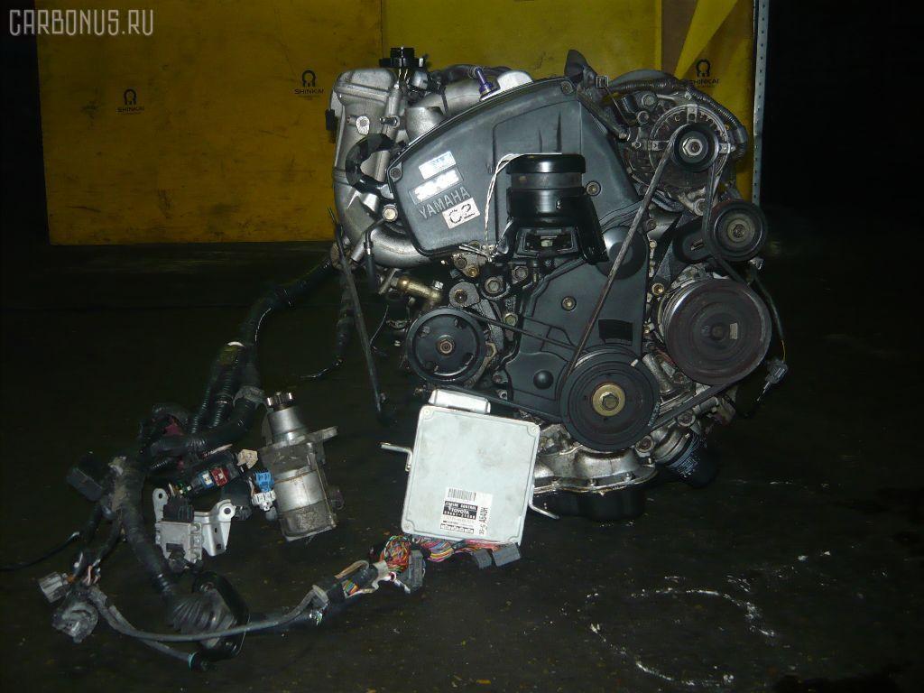 Двигатель TOYOTA CALDINA ST195G 3S-GE. Фото 7