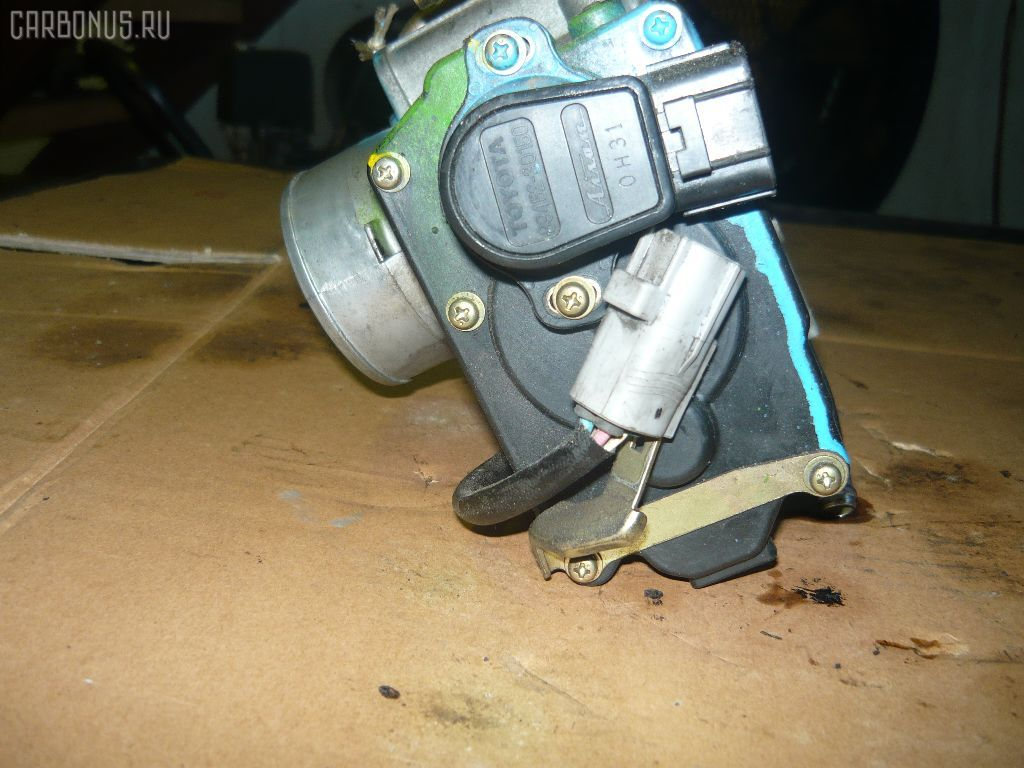 Дроссельная заслонка TOYOTA VISTA SV50 3S-FSE. Фото 4
