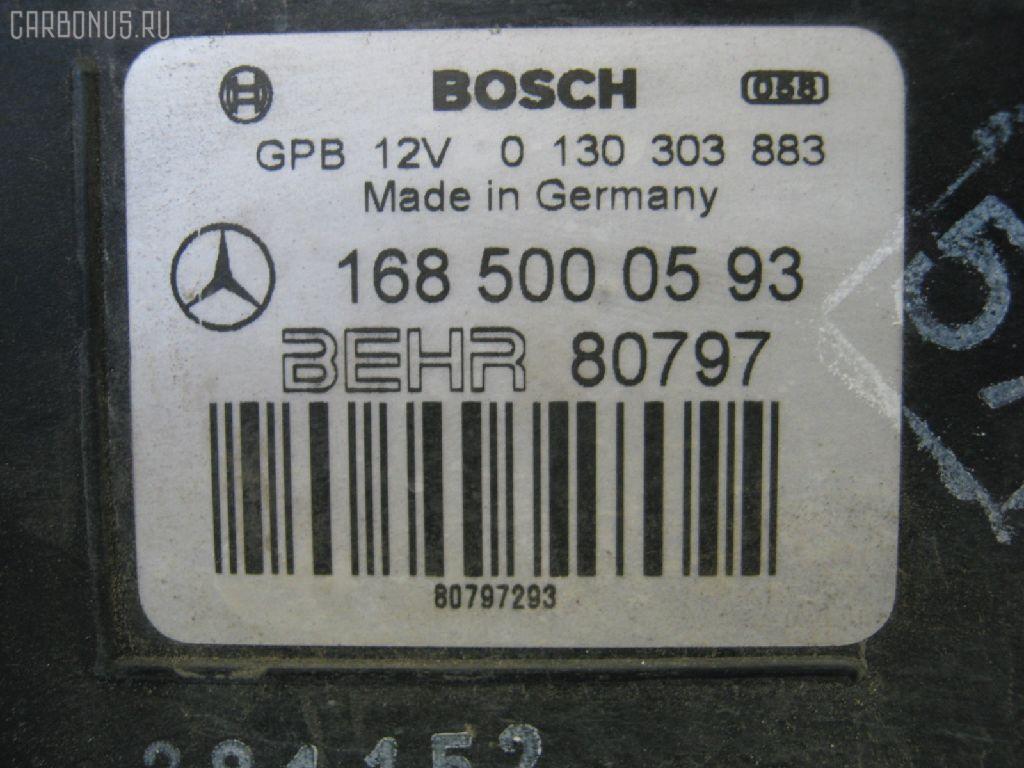 Радиатор ДВС MERCEDES-BENZ A-CLASS W168.133 166.960. Фото 8