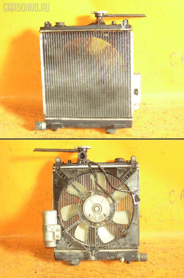 Радиатор ДВС SUZUKI WAGON R MC22S K6A. Фото 4
