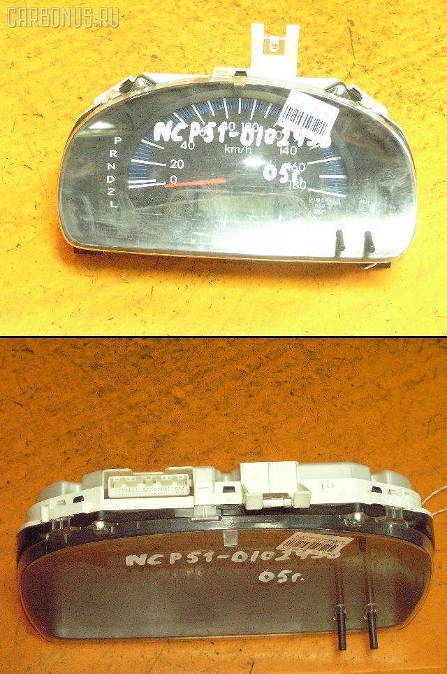 Спидометр TOYOTA PROBOX NCP51V 1NZ-FE. Фото 5