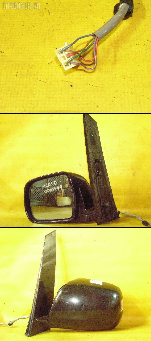 Зеркало двери боковой TOYOTA ESTIMA MCR40W. Фото 7
