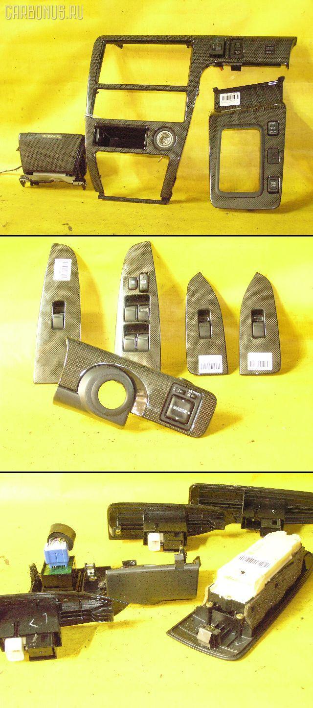 Консоль магнитофона TOYOTA CHASER JZX100. Фото 11