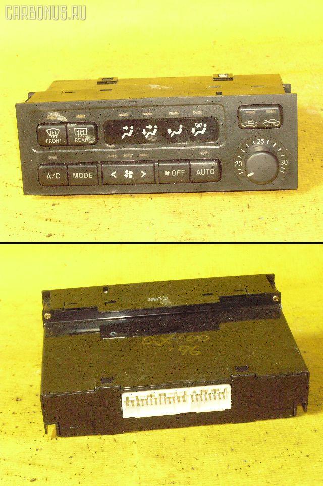 Блок управления климатконтроля TOYOTA GX100 1G-FE. Фото 2