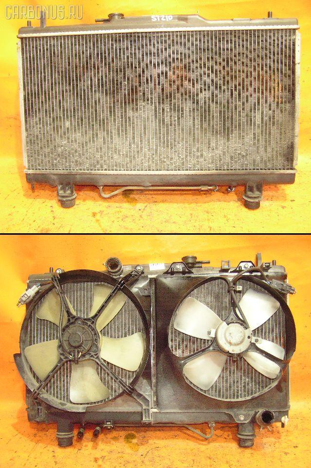 Радиатор ДВС TOYOTA ST210 3S-FE. Фото 10